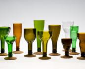 Botellas de vidrio - Cortadas