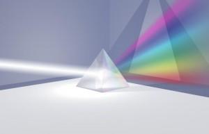 Espectro de luz - Prisma