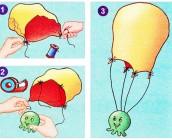 Paracaidas casero