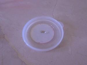 tapa de plàstico