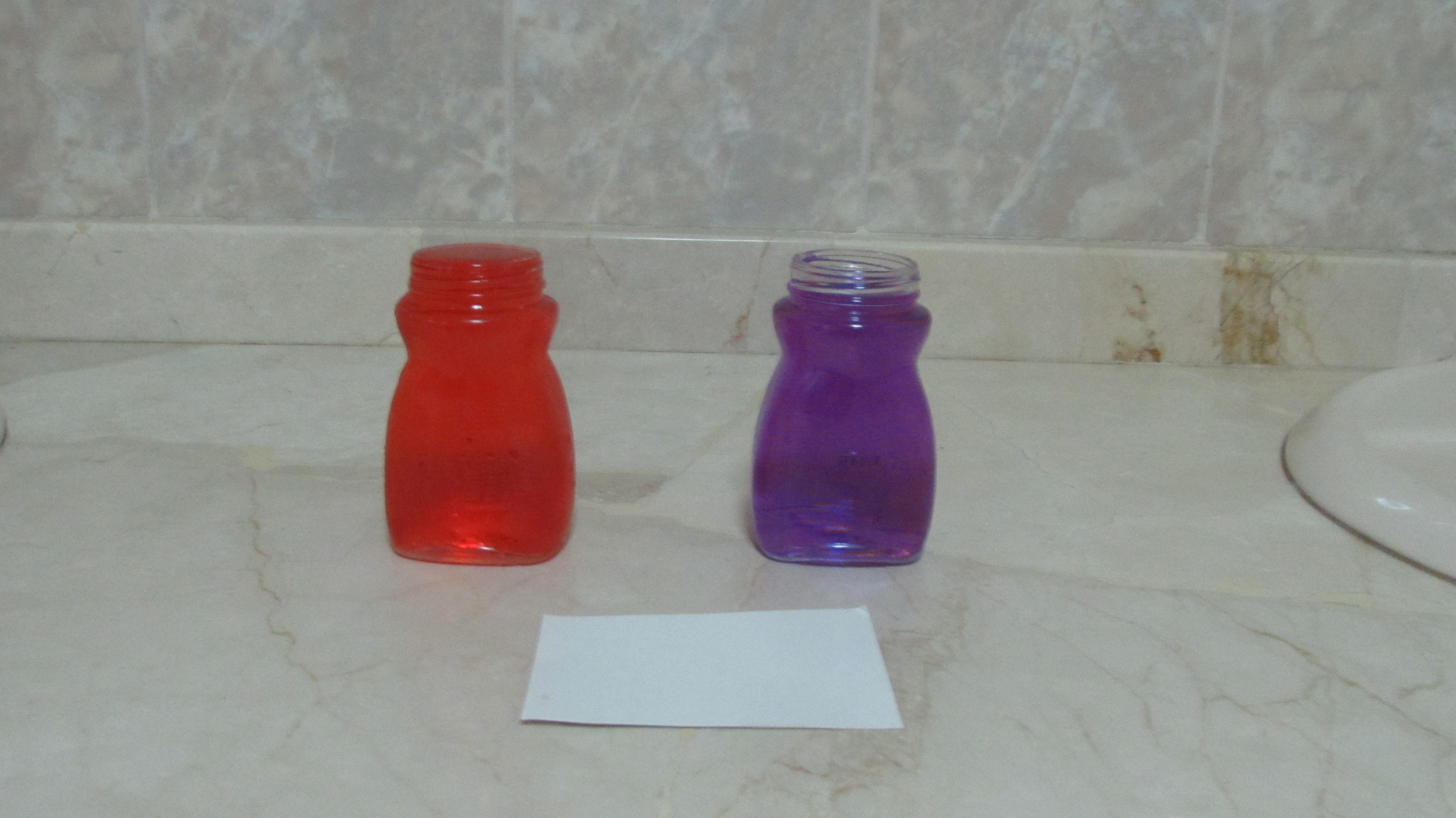 Experimento con agua:botella misteriosa