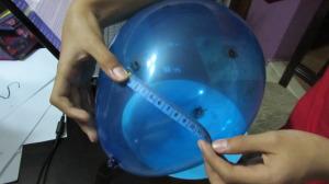 globo con puntos