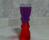 Botellas con agua caliente y fría