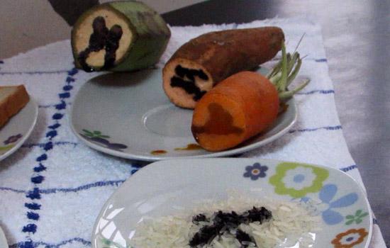 Experimento para identificar almidón en los alimentos